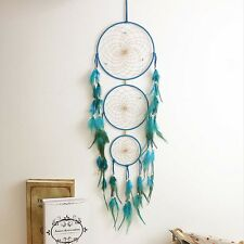 "Handmade Dream Catcher with Feather Wall Hanging Decoration Ornament 27"" Long"