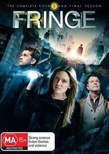 FRINGE: Season 5 (FINAL Season)  DVD Region 4 - TV SERIES 4 DvD Set