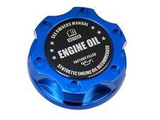 BLUE SYNTHETIC BILLET ENGINE OIL CAP FOR FORD 6.0L 7.3L TURBO DIESEL BK
