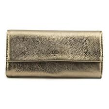Fossil Wallet/Passport Case Women Bronze Wallet NWT