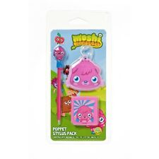 Moshi Monsters muñeca Stylus Pen Pack Nintendo DS DSI Lite 3DS XL 3 Pack
