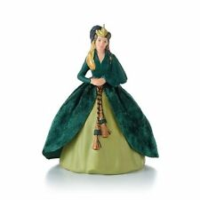 2013 Hallmark Scarlett's Green Gown Ornament - Gone With The Wind  Rhett Butler