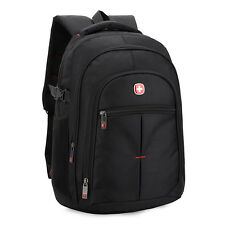 "15"" New Men Swiss Army Laptop Backpack Travel Casual notebook Rucksack Schoolbag"