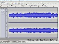 Sonido Audacity Music Editor-software de grabación en CD - 1st Class Post