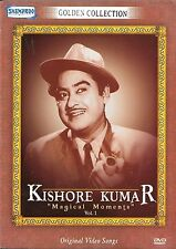 KISHORE KUMAR - MAGICAL MOMENTS VOL 1 - NEW BOLLYWOOD SONGS DVD - FREE UK POST