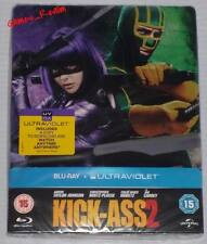 Kick Ass 2 Blu Ray Steelbook Limited Edition Sealed Collectors New UK - Rare