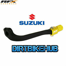 NEW RFX Race MX Gear Shifter Lever Suzuki DRZ400 2000 - 2015 Black / Yellow