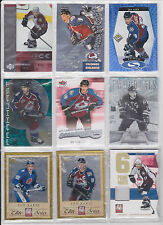 Joe Sakic 54 Lot Certified Immortals Elite Prime Number Jersey Premier Topps OPC