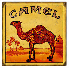 Camel Cigarettes Tobacco Smoke Sign Garage Art Reproduction
