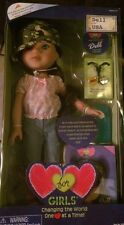 "Hearts For Hearts Girls ""Dell"" USA 14"" Doll"