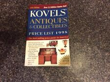 KOVELS ANTIQUES & COLLECTIBLES 1998  w 500 ILLUSTRATIONS 30th EDITION SOFT COVER