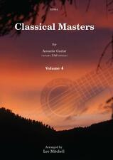 Classical Masters for Acoustic Guitar Volume 4 SP944