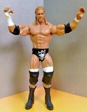 WWE WWF WRESTLING ACTION FIGURE 2010 MATTEL HHH Hunter The Game NXT ROH