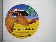Aufkleber Sticker Bundespost BKK Rauchen ist ungesund (M1939)