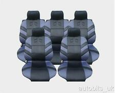 FULL SET 5X GREY SEAT COVERS CUSHION FOR  CITROEN C8 XSARA PICASSO BERLINGO
