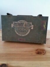 Vintage 1950'S First Aid Kit By E.D. Bullard Co. With Supplies