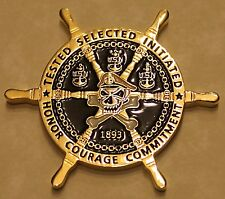 Navy Operational Support Center Las Vegas CPOA Navy Challenge Coin