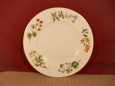 Minton China Meadow Pattern Smooth Edge Dinner Plate 10 3/4""