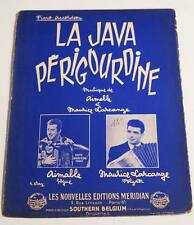 Partition sheet music AIMABLE / LARCANGE : La Java Périgourdine * 60's Accordéon
