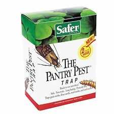 Safer Brand 05140 The Pantry Pest Trap, 2 Moth Traps, 1000 sq-ft