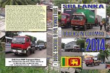 2954. Sri Lanka Tour September / October 2014. Volume 6 Trucks in Colombo near t