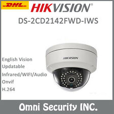 HIKVISION DS-2CD2142FWD-IWS 4MM 4MP 2MP 1080P Wifi Audio Onvif WDR IP Camera