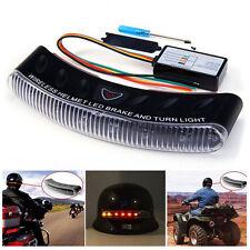 Wireless LED Motor Bike Motorcycle Rider Helmet Turn Signal Stop Brake light