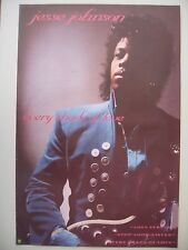 JESSE JOHNSON,A&M RECORDS,'EVERY SHADE OF LOVE' AUTHENTIC 1988 POSTER