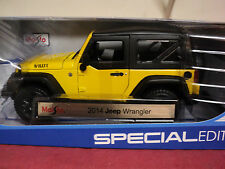 Maisto 2014 Jeep Wrangler    1/18th scale new in box 2015  release
