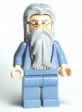 LEGO - HARRY POTTER - Dumbledore, Sand Blue with Silver Embroidery - MINI FIGURE
