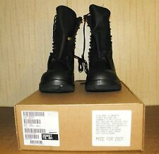 Belleville Military Steel Toe Combat Boots Ansi 75 Black 15M 15R Regular NIB ..