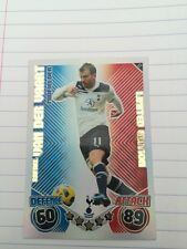 MATCH ATTAX 2010/2011 LIMITED  EDITION VAN DER VAART CARD