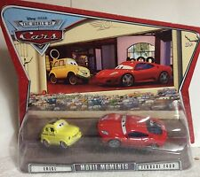 Disney Pixar The World Of Cars - Luigi And Ferrari  F430