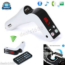 Bluetooth Wireless Car FM Transmitter LCD MP3 Player Radio Adapter Kit Charger