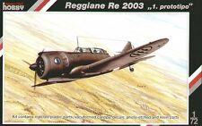 Special Hobby 1/72 Reggiane Re 2003 1st Prototype # 72135