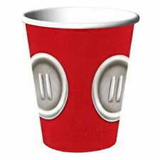 MICKEY MOUSE Playtime 9oz PAPER CUPS (8) ~ Birthday Party Supplies Beverage