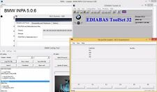 BMW Coding Diagnostics INPA EDIABAS NCS WinKFP Coding Tools + Quick Start Guide