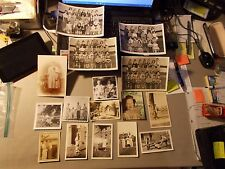 VINTAGE PHOTOGRAPHS LOT OF 16 FAMILY PICTURES FROM 1920'S TO 1950'S