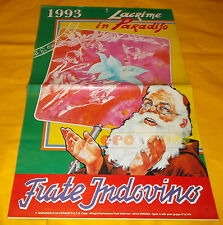 FRATE INDOVINO - Calendario - Anno 1993 - Lacrime in Paradiso