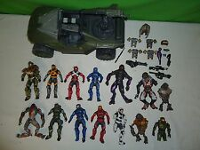 2010 Halo microsoft TMP action figure - jeep lot