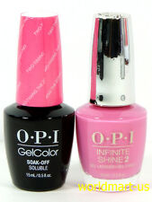 OPI GelColor & Infinite FIJI Collection GC & ISL F80- Two-Timing The Zones