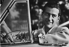 TEDDY RENO  AUTOGRAFO ORIGINALE  SU CARTOLINA