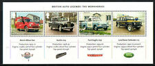 GREAT BRITAIN 2013 BRITISH AUTO LEGENDS MINIATURE SHEET UNMOUNTED MINT, MNH