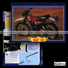 #097.02 Fiche Moto YAMAHA 125 DTMX (DT 125 MX) 1985 Motorcycle Card ヤマハ