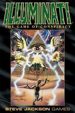 Steve Jackson Games: Illuminati (Deluxe) Card Game (New)