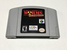 Worms: Armageddon (Nintendo 64, N64) *Reproduction* Read Description*