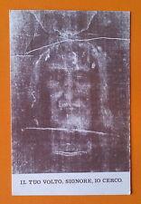 Santino Holy Card: La Santa Sindone - Il tuo volto, signore, io cerco