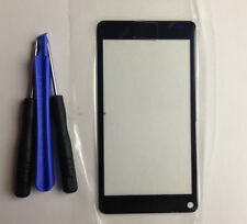 Black Front Touch Screen Outer Glass Lens +Tools For Nokia N9