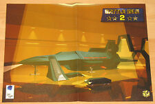 Battle Isle 2 & IndyCar  very rare mini Retro Poster 30x41cm