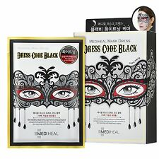 Mediheal Mask Dress Code Black (Whitening Care) x 10pcs USA SELLER! FREE GIFTS!!